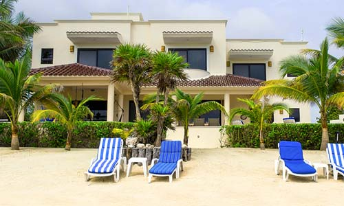 casa soleada ocean front vacation rental near tulum
